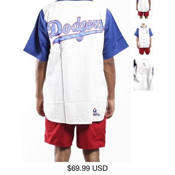 2747bebe99988 Shirts | Los Angeles Dodgers Vintage Jersey Xl | Poshmark